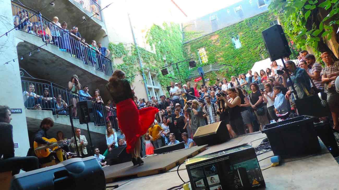 La troupe de danse flamenco Minera au festival Tziga'Nancy - 2016