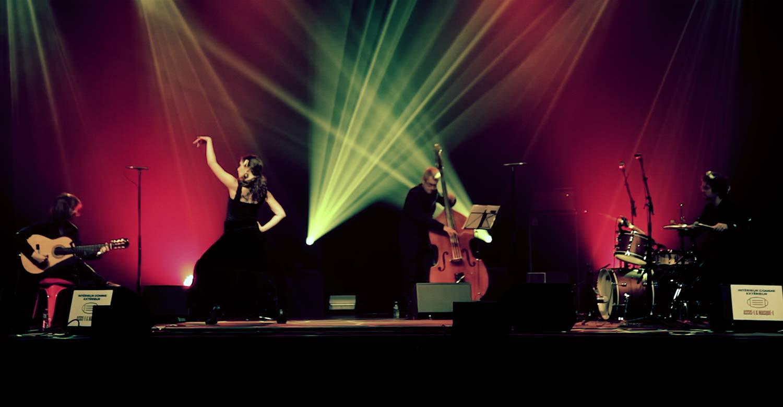 Le groupe de flamenco Minera au festival Nancy Jazz Pulsations 2020